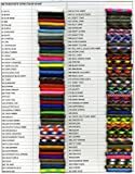50FT Type III Black Paracord 550 Parachute Cord 7