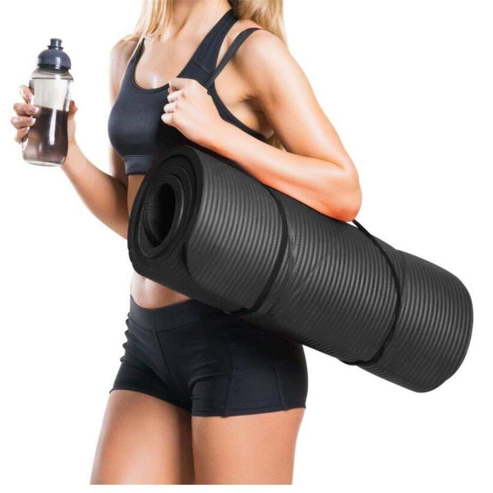 XPORTOR Yoga Matte Nbr Rutschfeste Yogamatte Pilates Portable Geschmiedete Körper Indoor Training Outdoor Sport Mat