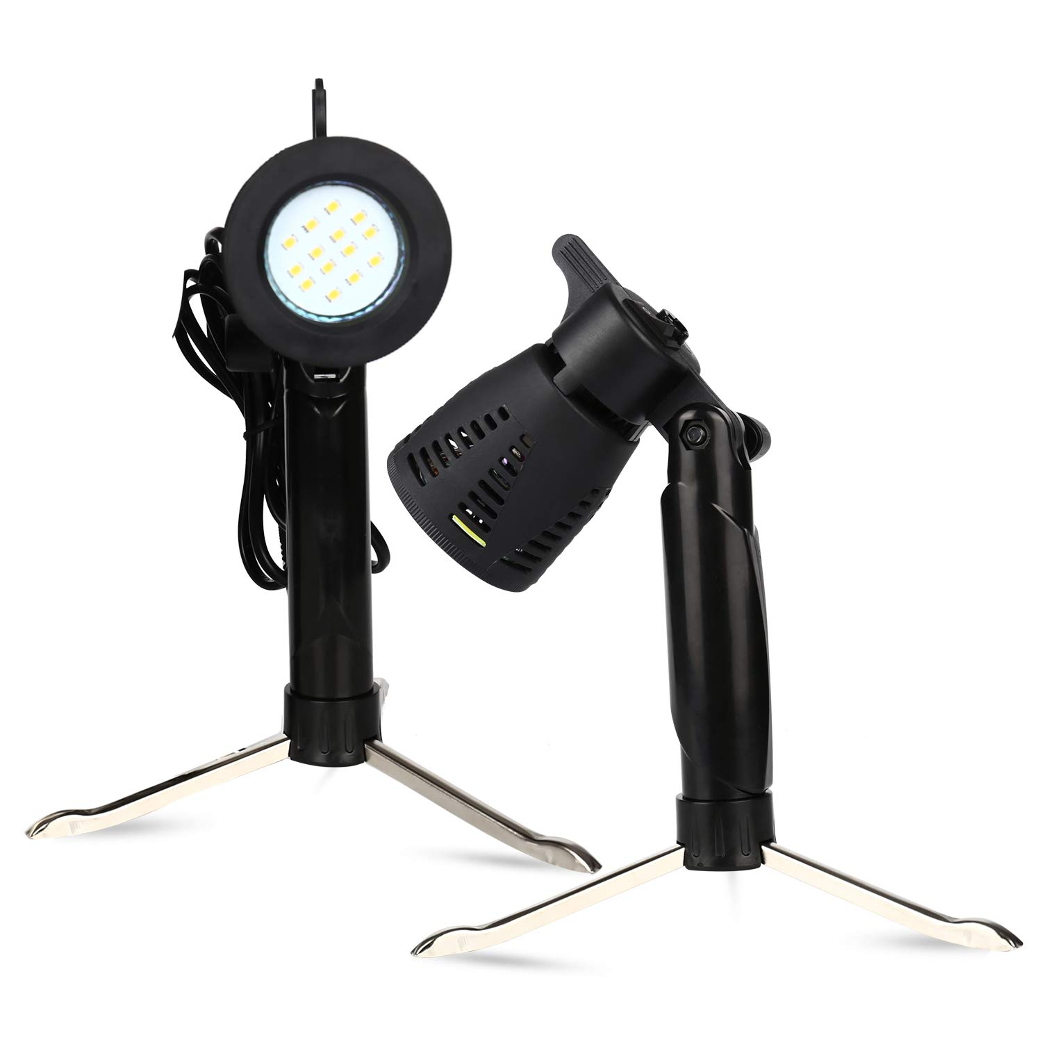 2 PCS Photography Continuous LED Portable Light Lamp for Table Top Studio Photography Photo Studio ... by YC°
