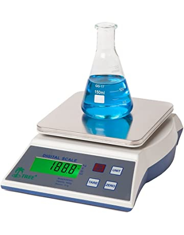 KHR-502 -- 500 g x 0,01 g Balanza de precisión económica laboratorio