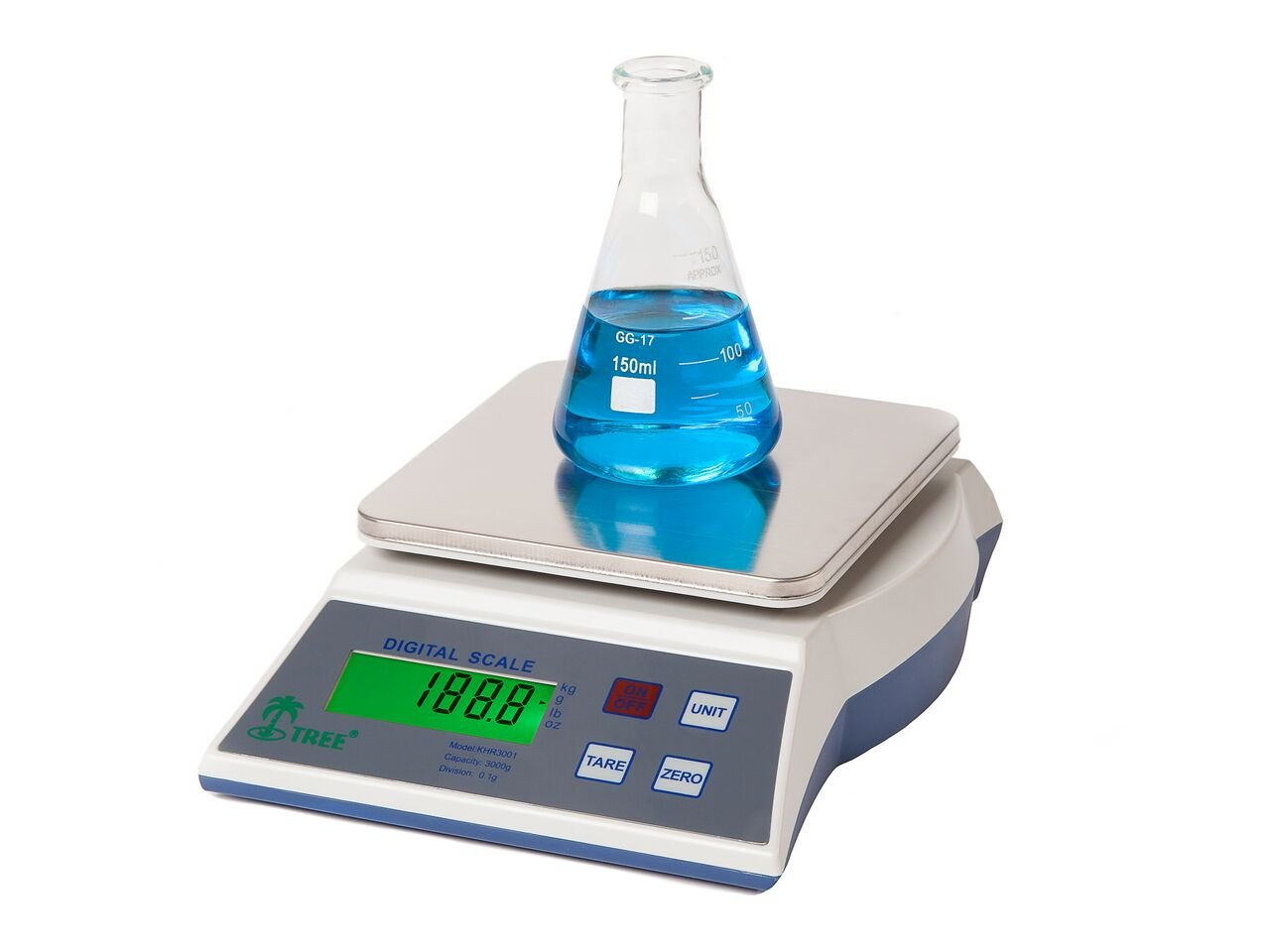 KMR-6000 -- 6000g x 1 g Laboratory Balance LW Measurements Europe Ltd KMR6000