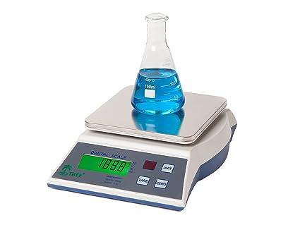 KMR-6000 -- 6000g x 1g Balanza de precisión económica laboratorio universidades joyería escuelas