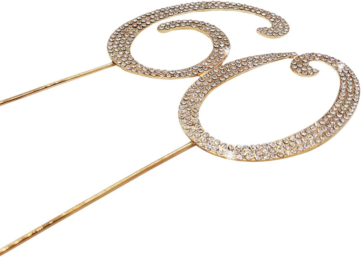perfecto recuerdo 13 15 adornos de oro para tarta ideas de decoraci/ón de fiesta de aleaci/ón de metal de calidad cristales brillantes de imitaci/ón de 15 cumplea/ños o aniversario