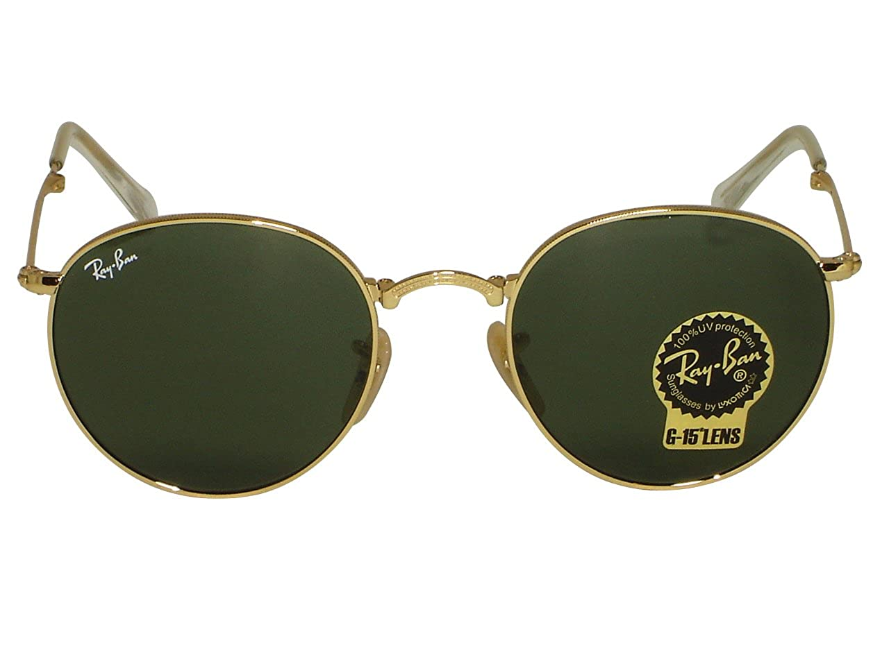 4398f2d03be Ray Ban RB3447 Round Metal 029 Matte Gunmetal 47mm  Amazon.ca  Clothing    Accessories