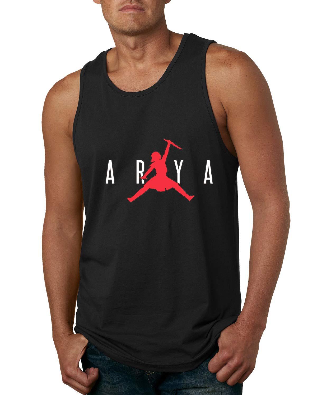 Air Arya Dagger Not Today Got Thrones Stark Fan Merch Mens Pop Culture Graphic Shirts
