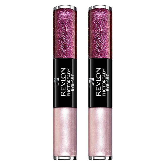 (2 Pack) Revlon PhotoReady Eye Art Lid + Line + Lash -- Fuchsia Flash (040)