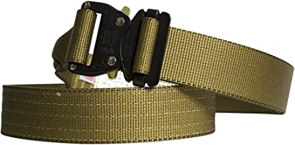 """Fusion Riggers Belt Coyote Brown Medium 33-38/""""//1.5/"""" Wide"""