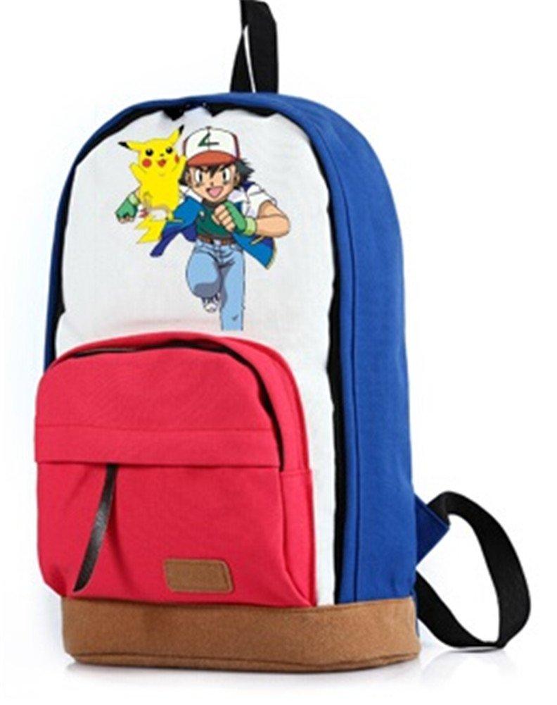 yoyoshome® Anime Pokemon Cosplay mochila mochila escolar bolsa de hombro: Amazon.es: Electrónica