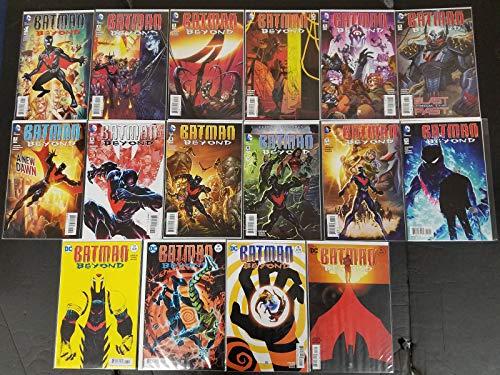 Batman Beyond #1-16 Near Mint Full Set Complete Run DC Comics 2015 CBX40B