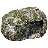 """Zilla 100111351 Rock Lair Medium Naturalistic Hideaway, 5.75"""" X 8.5"""" X 5.25"""""""