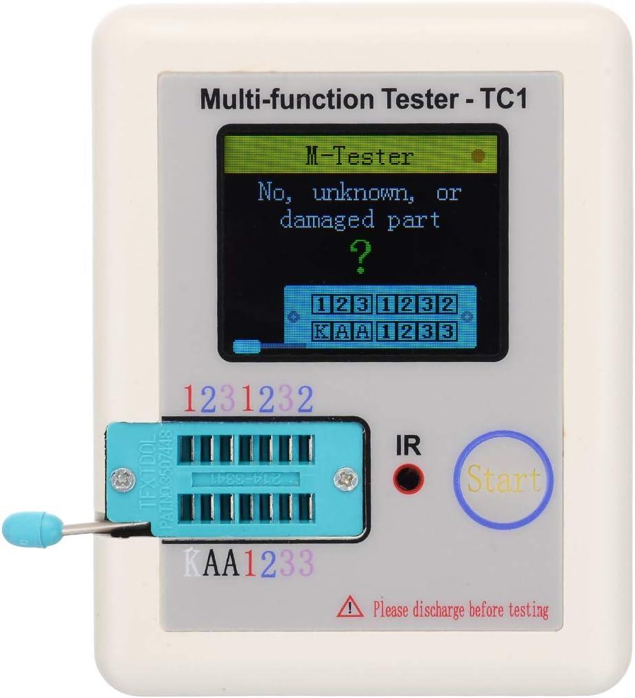 LCR-TC1 TFT Screen Display Multi-functional TFT Backlight Transistor Tester WN