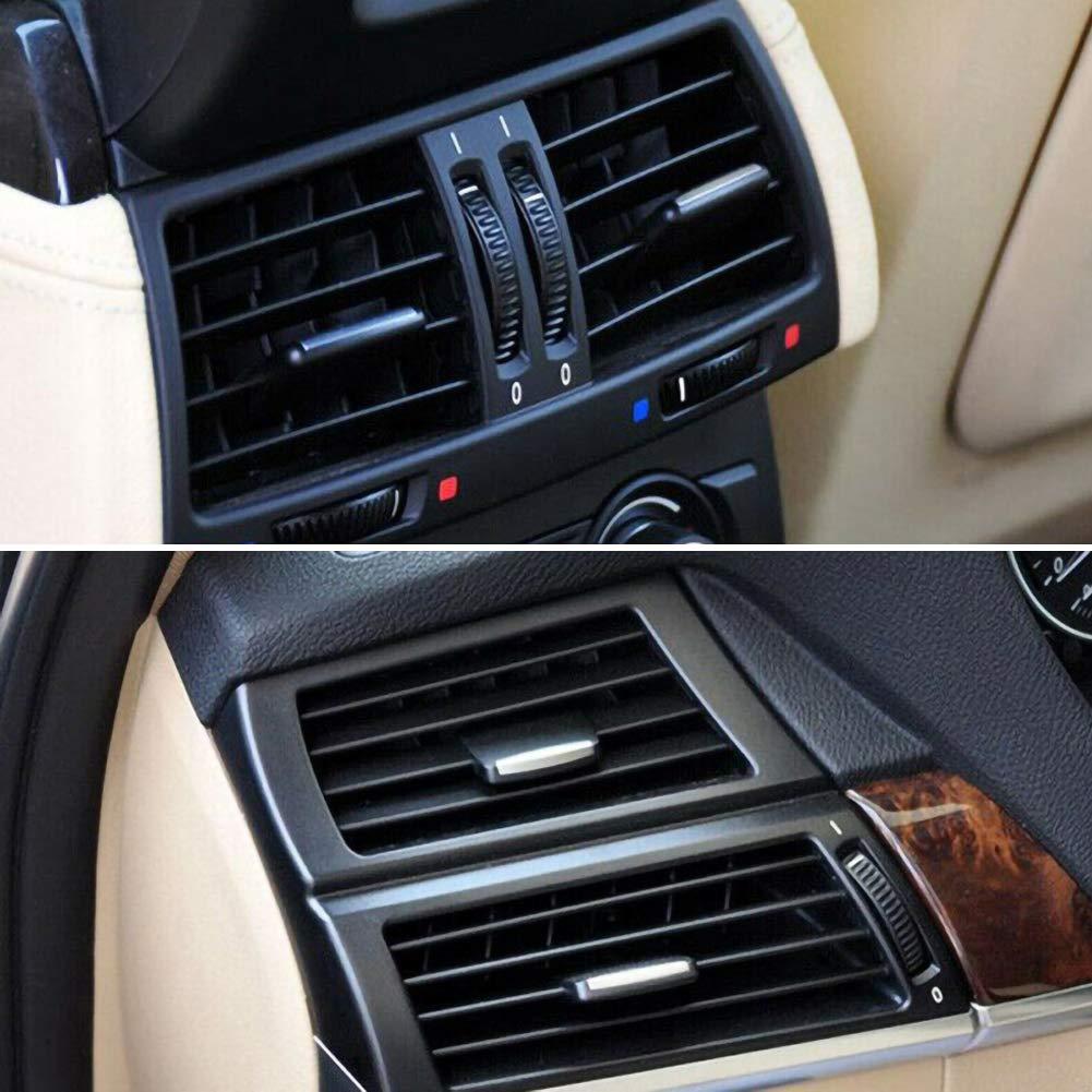 znwiem Auslasslaschen-Clip f/ür die L/üftungsgitter-/Ösen des BMW X5 E70 X6 E71 Klemme der vorderen L/üftungsklimaanlage