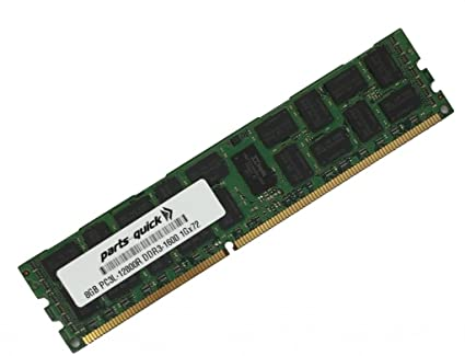 8GB DDR3 for Dell PowerEdge R710 Server PC3L-12800 1600MHz