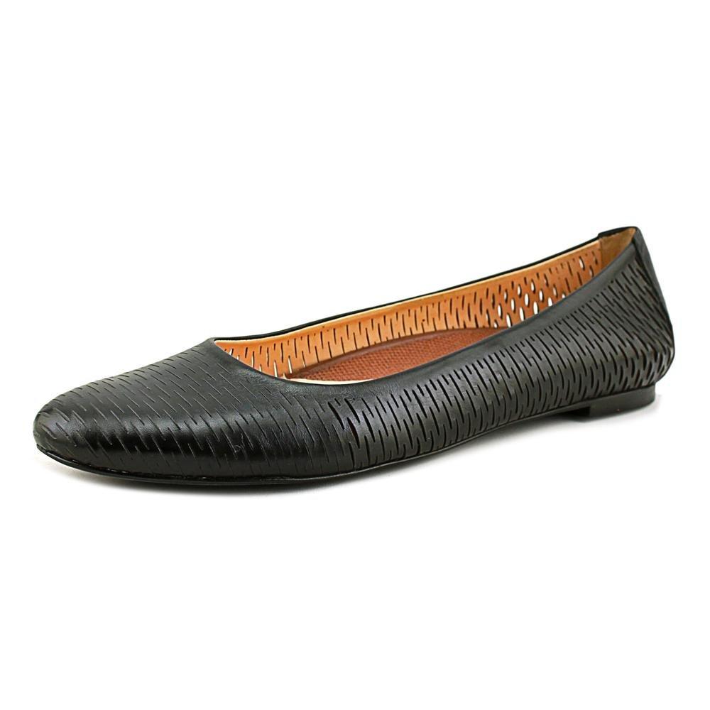 Walking Cradles Womens Blaire Closed Toe Slide Flats B01NA0KT0O 7.5 C/D US|Black