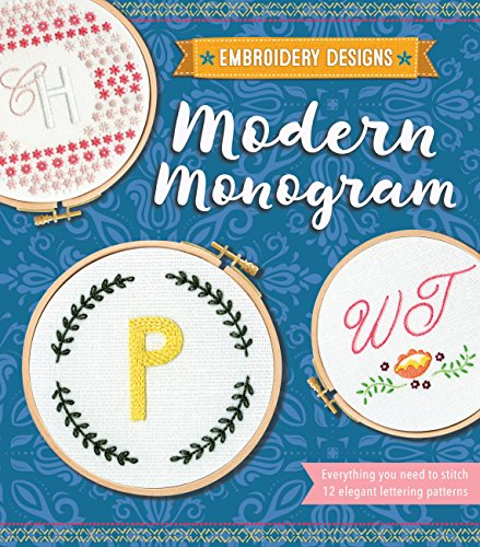 Modern Monogram (Embroidery Designs) ()