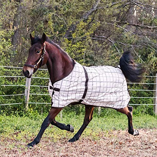 Soft Mesh Fly Sheet - HORZE Soft Mesh Fly Sheet with Leg Straps - Plaids