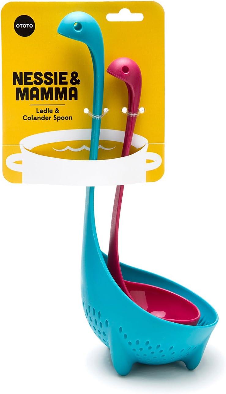 Nessie Ladle & Mamma Nessie Colander Special Edition Value Pack by OTOTO
