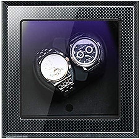 AMITD - Caja con Movimiento para Relojes, con Temporizador Giratorio de 5 Modos, Piel: Amazon.es: Hogar