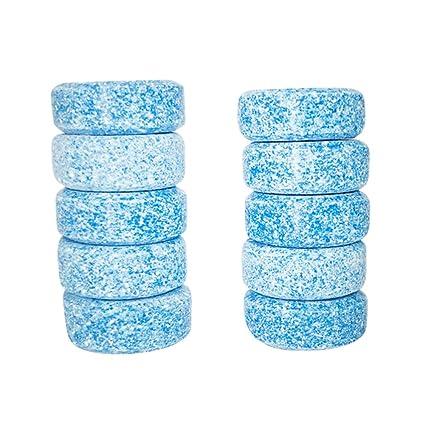 Aesy Multifuncional Efervescente Spray Limpiador Set, Pastillas de limpieza Plus 1 Botella Todo Propósito, Para Coche Cocina WC Habitación Fregadero ...
