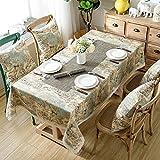 Luxury linen Tablecloths, [modern] Moose [classical] Rectangle 100% linen 1 piece Tablecloths-B 140x180cm(55x71inch)
