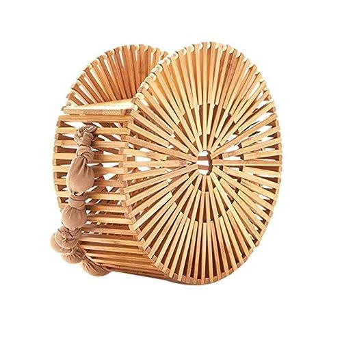 Bamboo Handbags For Women Japanese Style Handmade Bamboo Purse