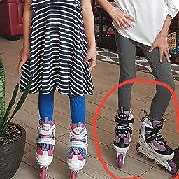 Amazon Com Customer Reviews Roller Derby Stryde Girl S Adjustable Inline Skates Medium 2 5 White Purple