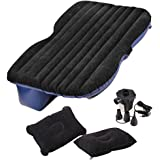 Cheesea Travel Car/SUV Back Seat Sleep Rest Inflatable Mattress Air Bed Car Bed with Air Pump