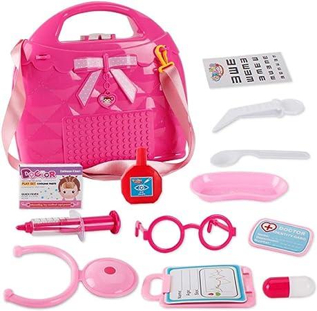Educación Juegos para Niños 15 pcs. Niñas, juguetes médicos, cosplay, kit de juguetes, estuche médico, enfermera, juguetes, juegos de rol, doctores, juegos de juguete, para bebés, niños de edad tempra: Amazon.es: Hogar