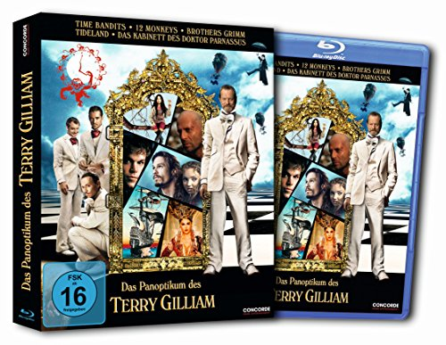 Terry Gilliam Collection - 5-Disc Set ( Time Bandits / Twelve Monkeys (12 Monkeys) / The Brothers Grimm / Tideland / The Imaginarium of Doctor Parnassus ) [ Blu-Ray, Reg.A/B/C Import - Germany ]