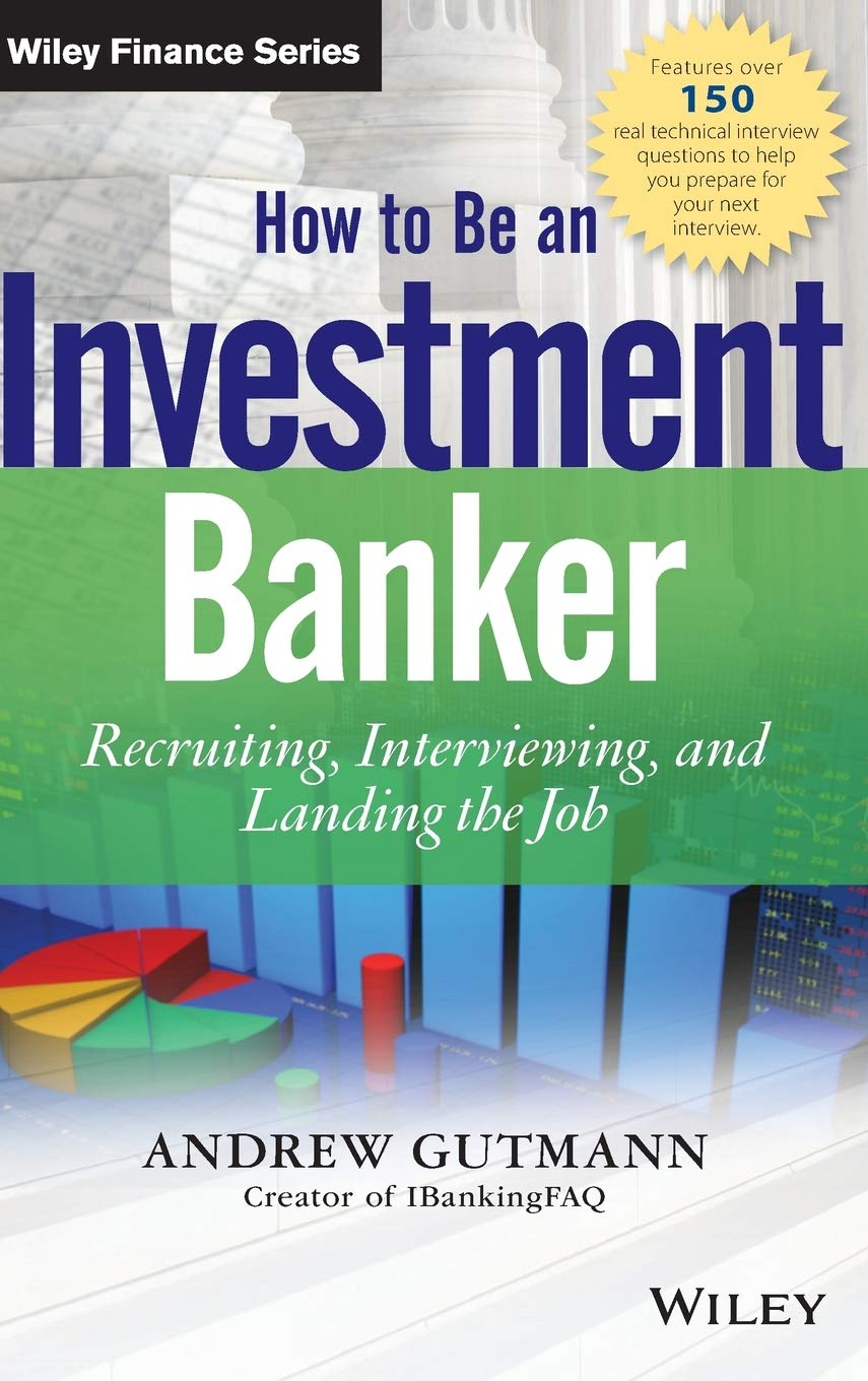 Investment banking interview questions books moongipa investments clothing