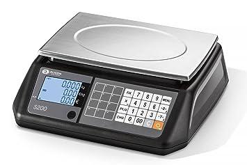 elicom Precio rechnungs Báscula S 200 B de rango de pesaje de 6 3/6