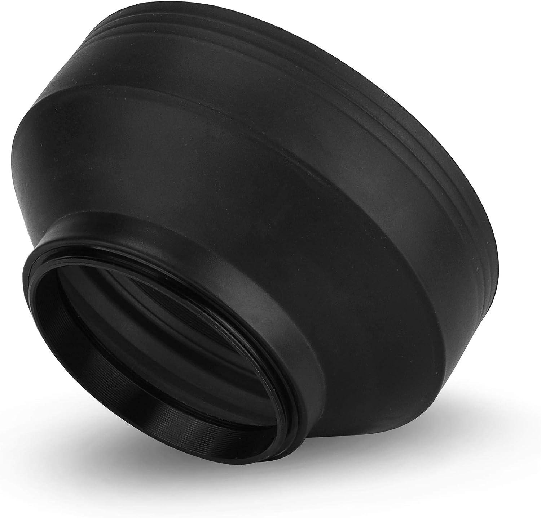 CELLONIC/® Pare-Soleil /Ø 58mm Compatible avec Panasonic Lumix cam/éra Capuchon /à lentille Pare Soleil/objektif