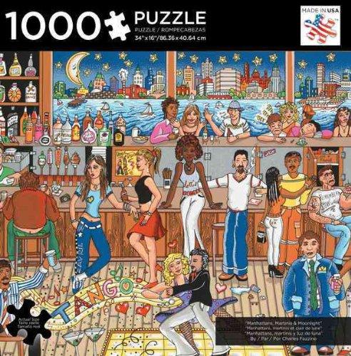 Ltd Manhattans, Martinis, and Moonlight - 1,000 Pc Puzzle