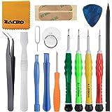 Zacro 15 en 1 Kit de Tournevis Outils Ouverture Démontage Réparation pour iPhone 4 / 4S / 5 / 5C / 5S / 6/6 Plus /7 / 7 Plus(GSM / CDMA) / 6S / iPad 4/3/2 / Mini, iPod, Macbook et plus