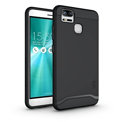 timeless design 405cb e0299 TUDIA ZenFone 3 Zoom Case, Slim-Fit Heavy Duty [Merge] Extreme  Protection/Rugged but Slim Dual Layer Case for Asus ZenFone 3 Zoom  (ZE553KL) (Matte ...