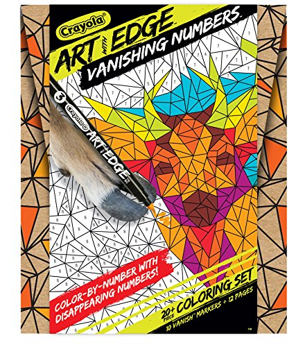 Crayola Color by Number, Vanishing Numbers, Animal Coloring Pages, Gift
