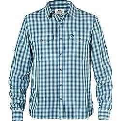 Fjallraven Men's Abisko Long Sleeve Cool Shirt, Red, Small