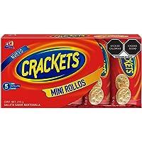 Crackets, Galletas Crackets, 5 Mini Rollos, 215 Gramos
