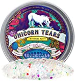 Mythical Slyme Unicorn Putty & Unicorn Slime - Clear Slime - Clear Putty - Unicorn Gifts - Glitter Putty and Glitter Slime - Liquid Glass (Tears)
