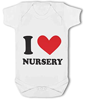 I Love Nursery heart Baby Vest