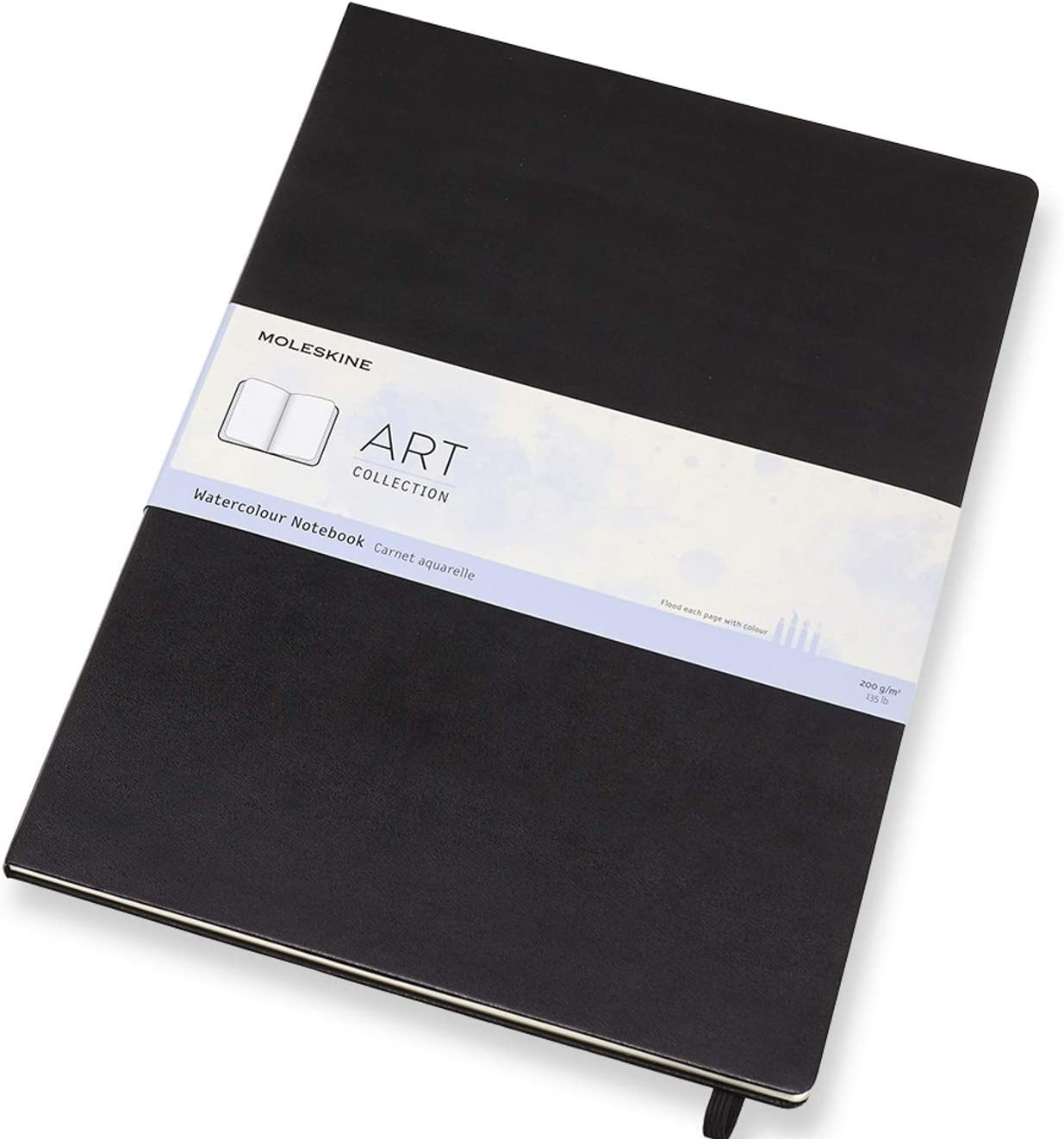 Moleskine - Cuaderno de Acuarela Clásico, Papel Adecuado para ...