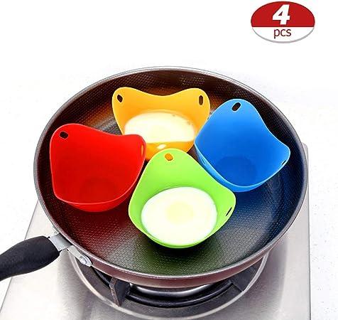 Sarplle Eggs Cazadores furtivos 4 Piezas Huevos Taza para escalfar ...