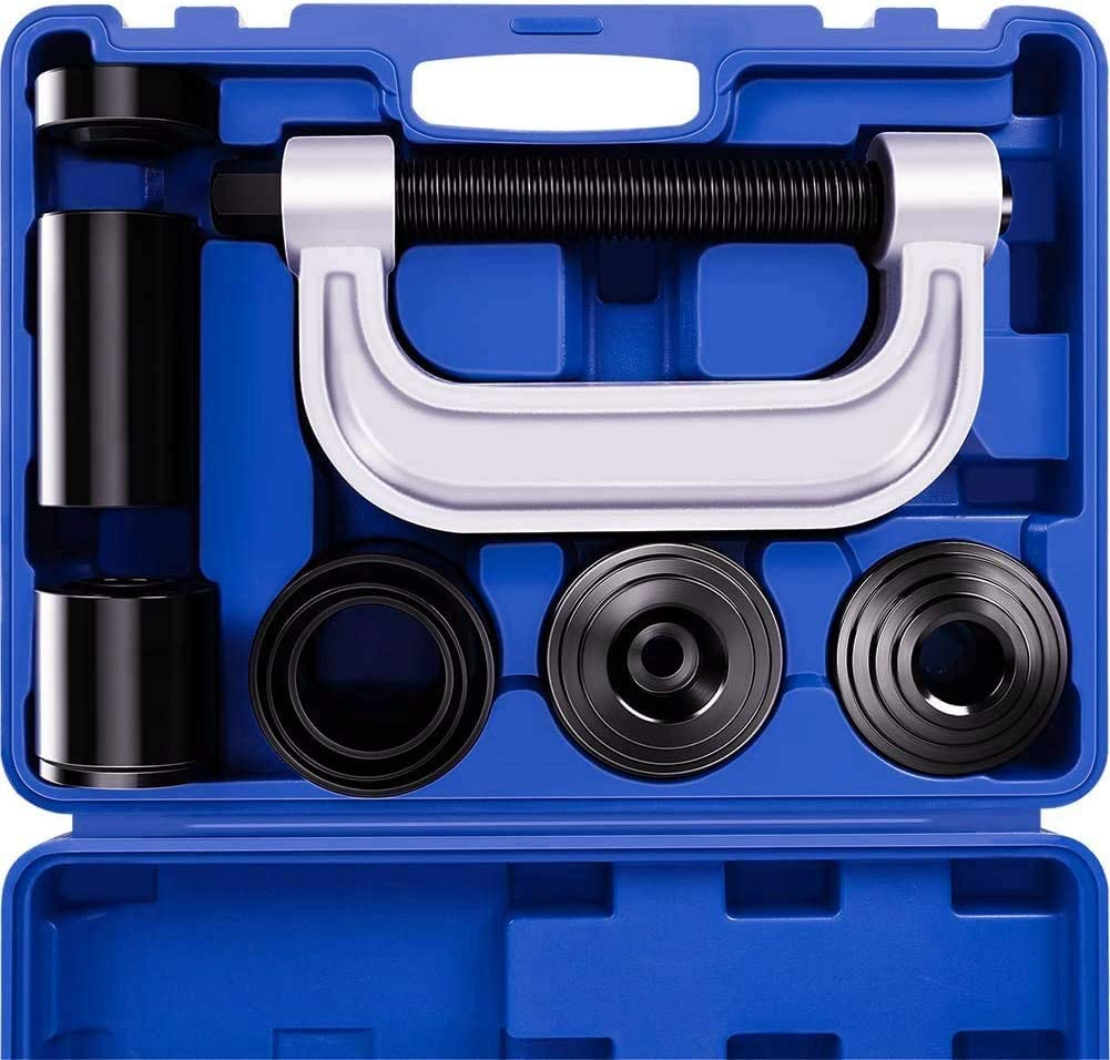 Frombet Heavy Duty Ball Joint Press /& U Joint Removal Tool Kit with 4x4 Adapters for Most 2WD and 4WD Cars and Light Trucks