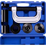 Heavy Duty Ball Joint Press & U Joint Removal Tool Kit with 4x4 Adapters, for Most 2WD and 4WD Cars and Light Trucks (BL…