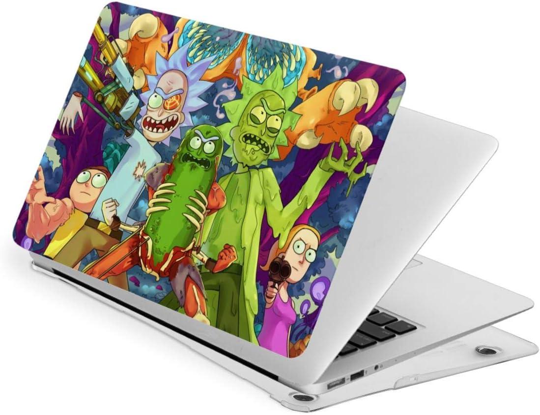 "KRISMARIO Ri-Ck N Morty Case for MacBook Air 13"" (2020) Rubberized Plastic Hard Shell Cove +Bottom Case"