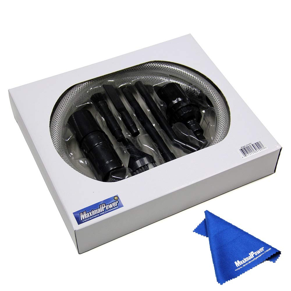 MaximalPower Mini/Micro Vacuum Cleaner Attachment Tool Kit 8 Pcs Set