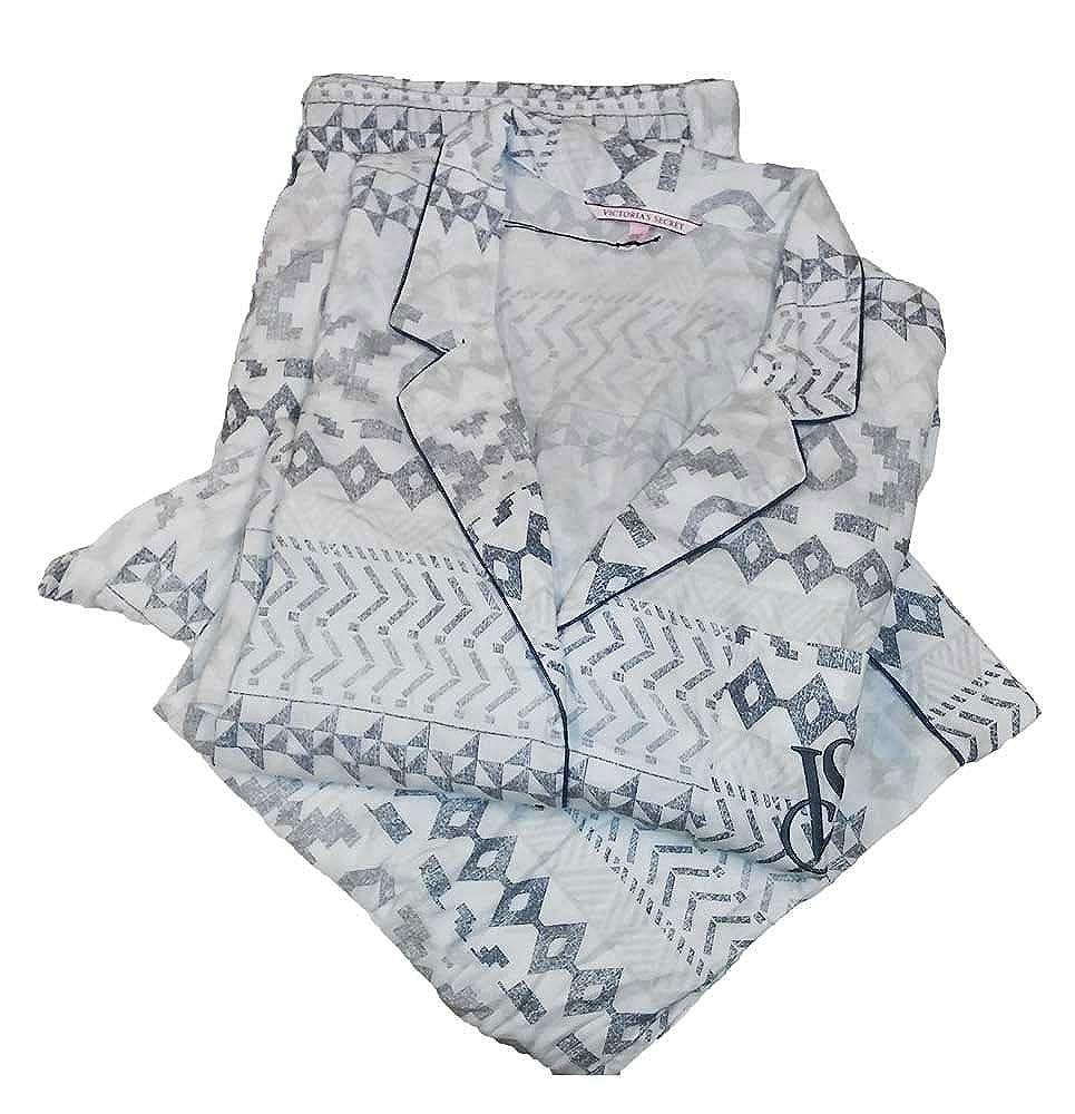 370ac6ccf2 Victoria's Secret 2PC Cotton Pajama Set Flannel The Dream at Amazon Women's  Clothing store: