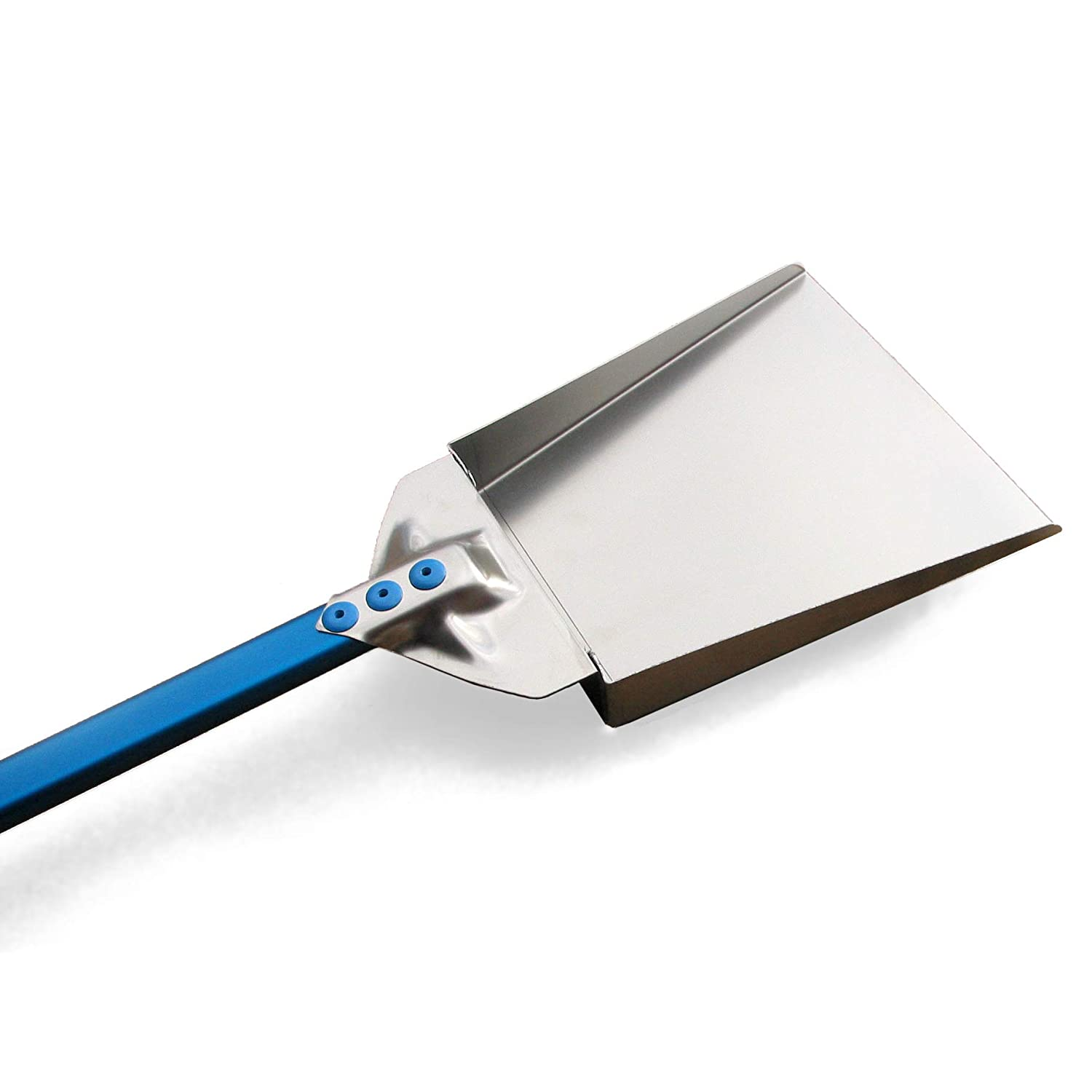 Ash Shovel - Stainless Steel with Aluminum Handle - 47-inch Handle