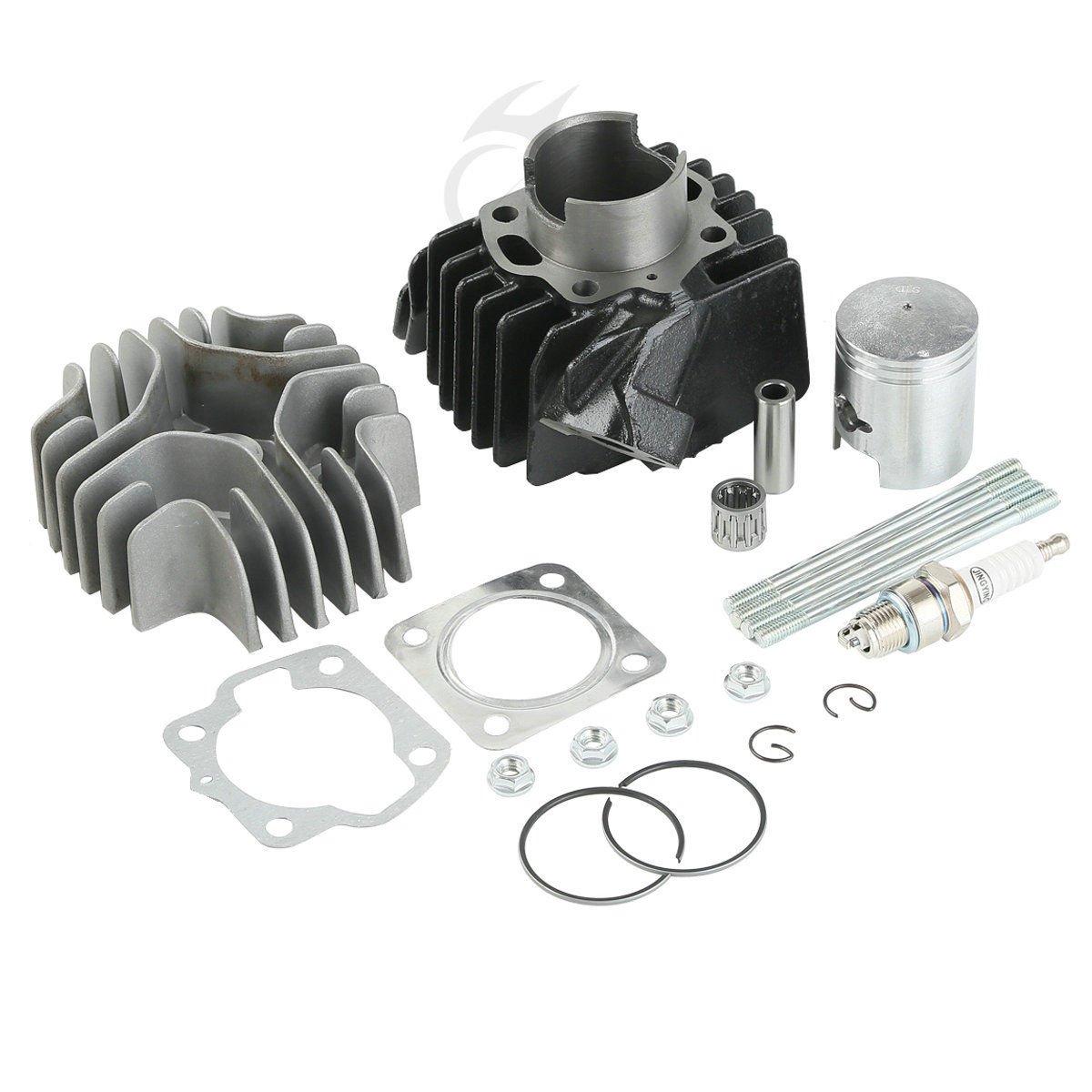 XFMT Big Bore 50cc Cylinder Piston Gasket Head Top End Kit for Suzuki JR50 1978-2006