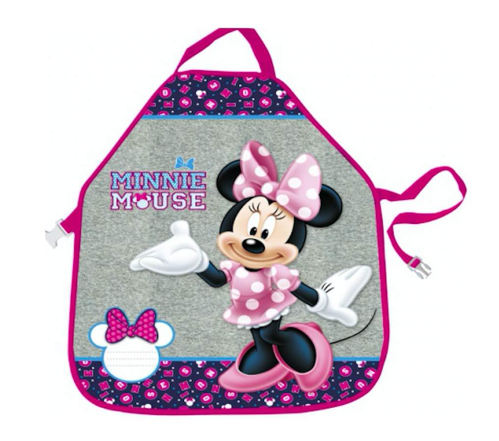 Disney Minnie Maus Katze pink SCHÜRZE MALSCHÜRZE KINDERSCHÜRZE BASTELSCHÜRZE mit Sticker von Kids4shop